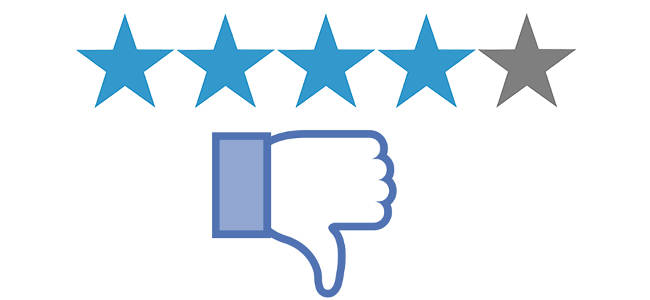 review negativ facebook