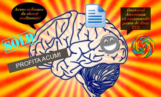 cum este influentat creierul de marketing